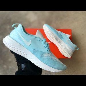 Nike Odyssey React 2 Flyknit Running Shoe Teal